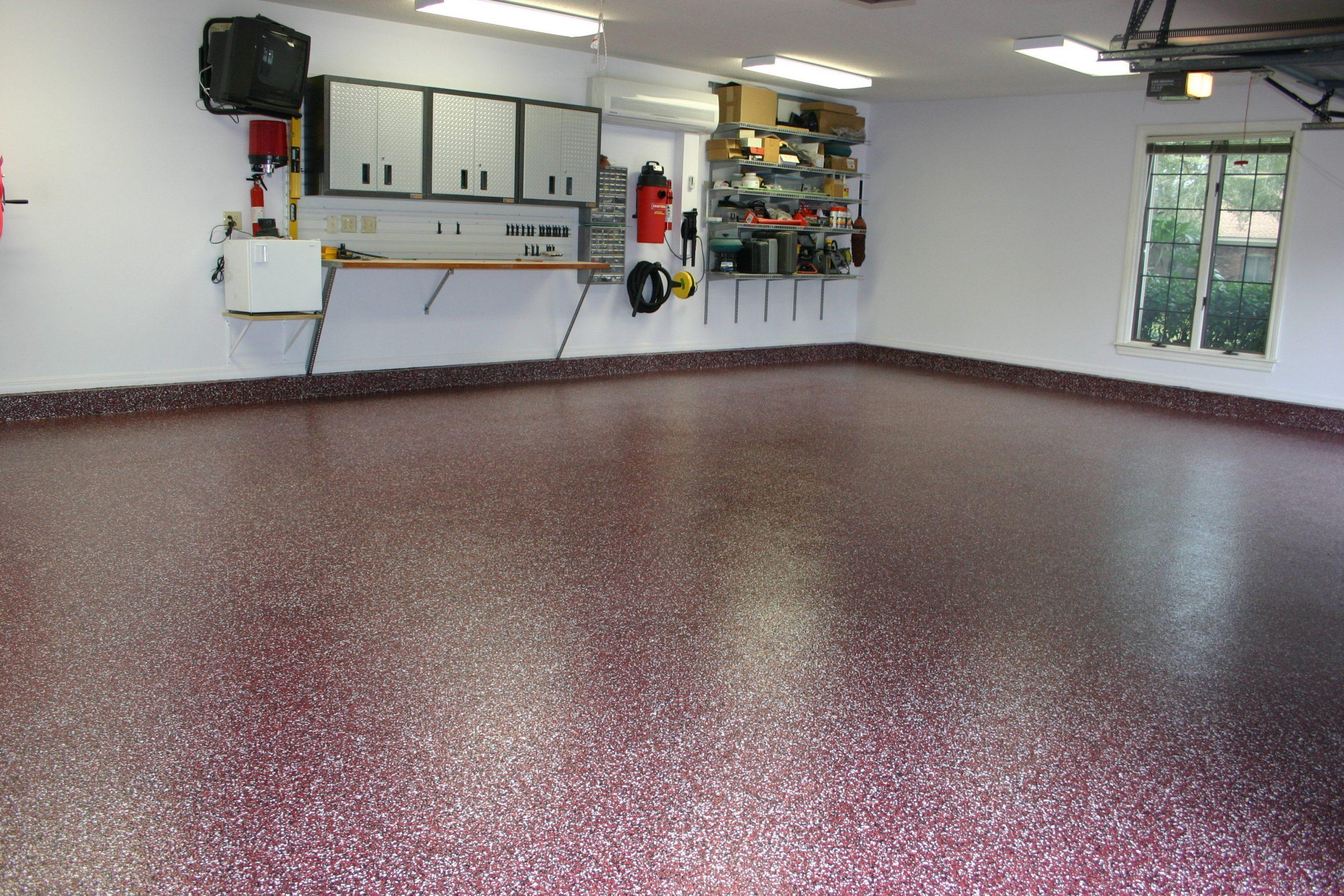 Garage Doctors Easy Clean Flooring in Florida Peters-14