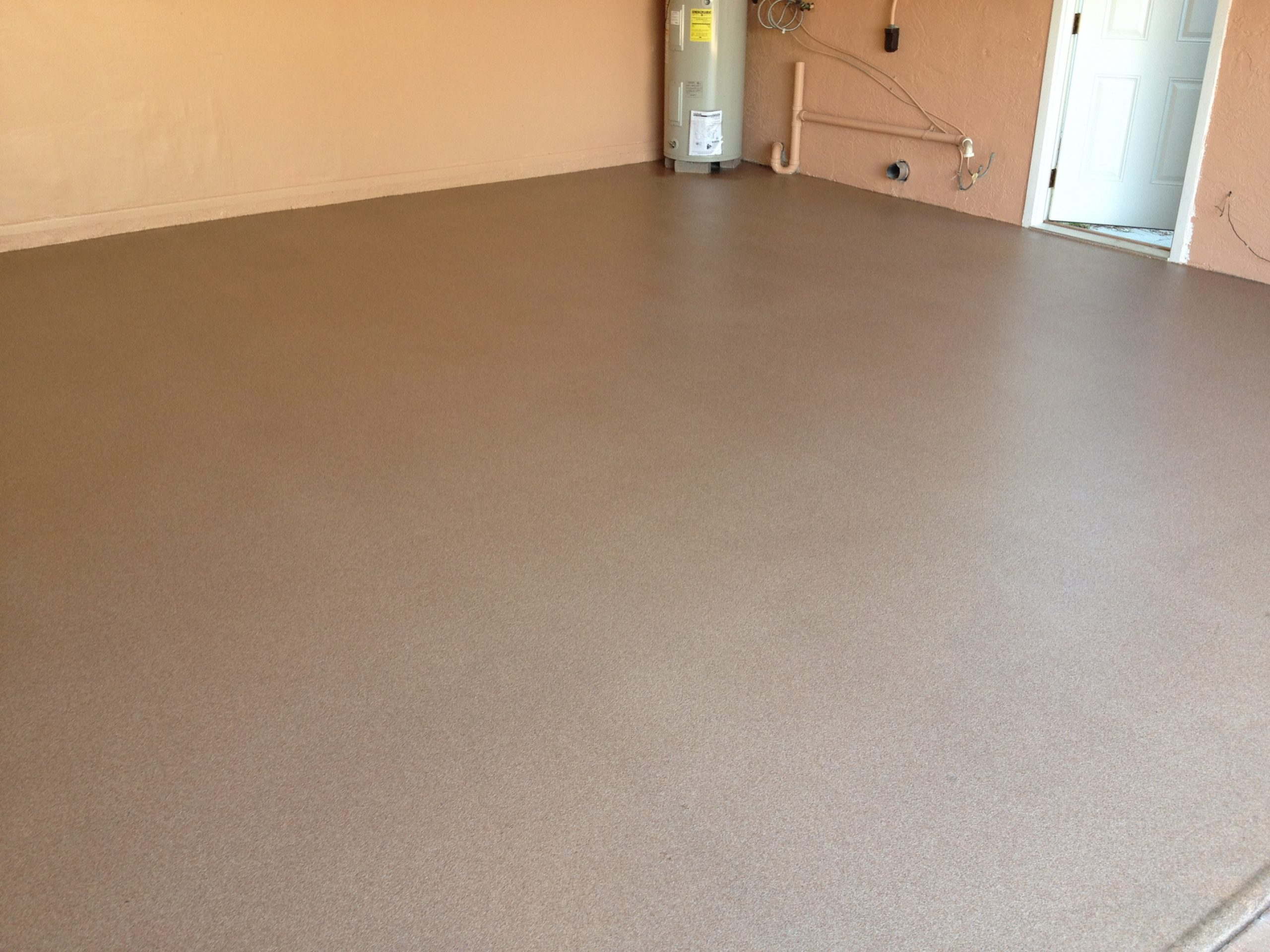 Garage Doctors Easy Clean Flooring in Florida Quartz