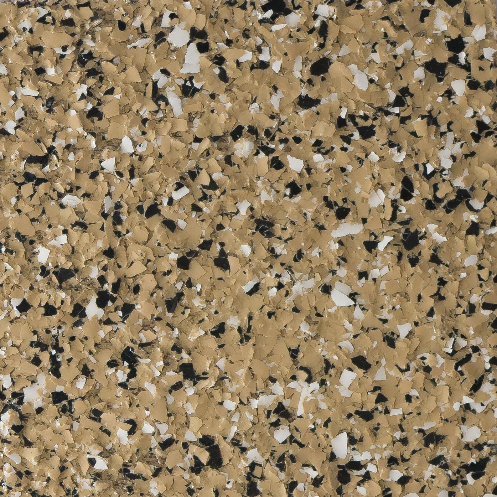 Garage Doctors Easy Clean Flooring in Florida platinum-crushed-granite-desert
