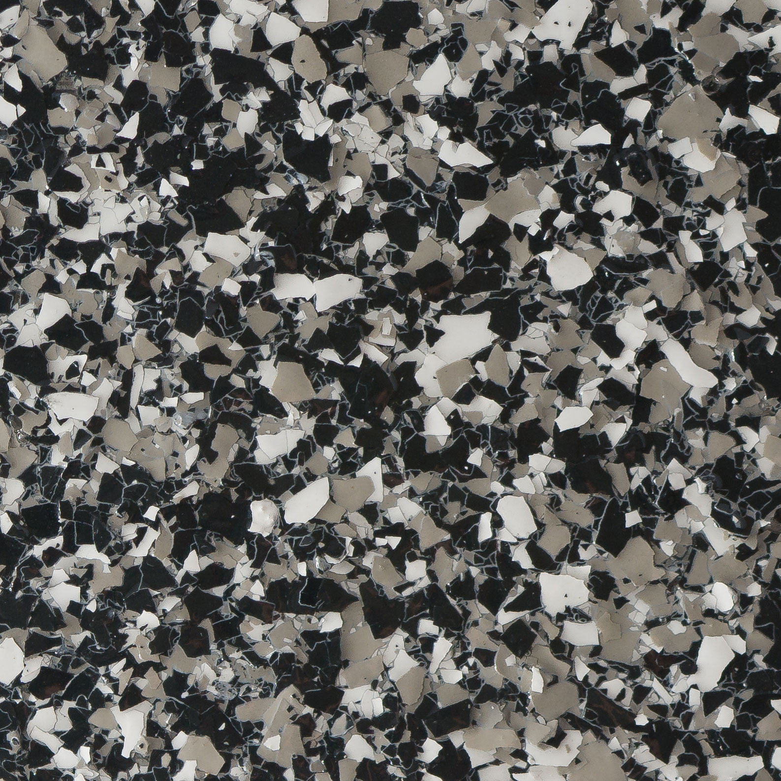Garage Doctors Easy Clean Flooring in Florida platinum-granite-charcoal