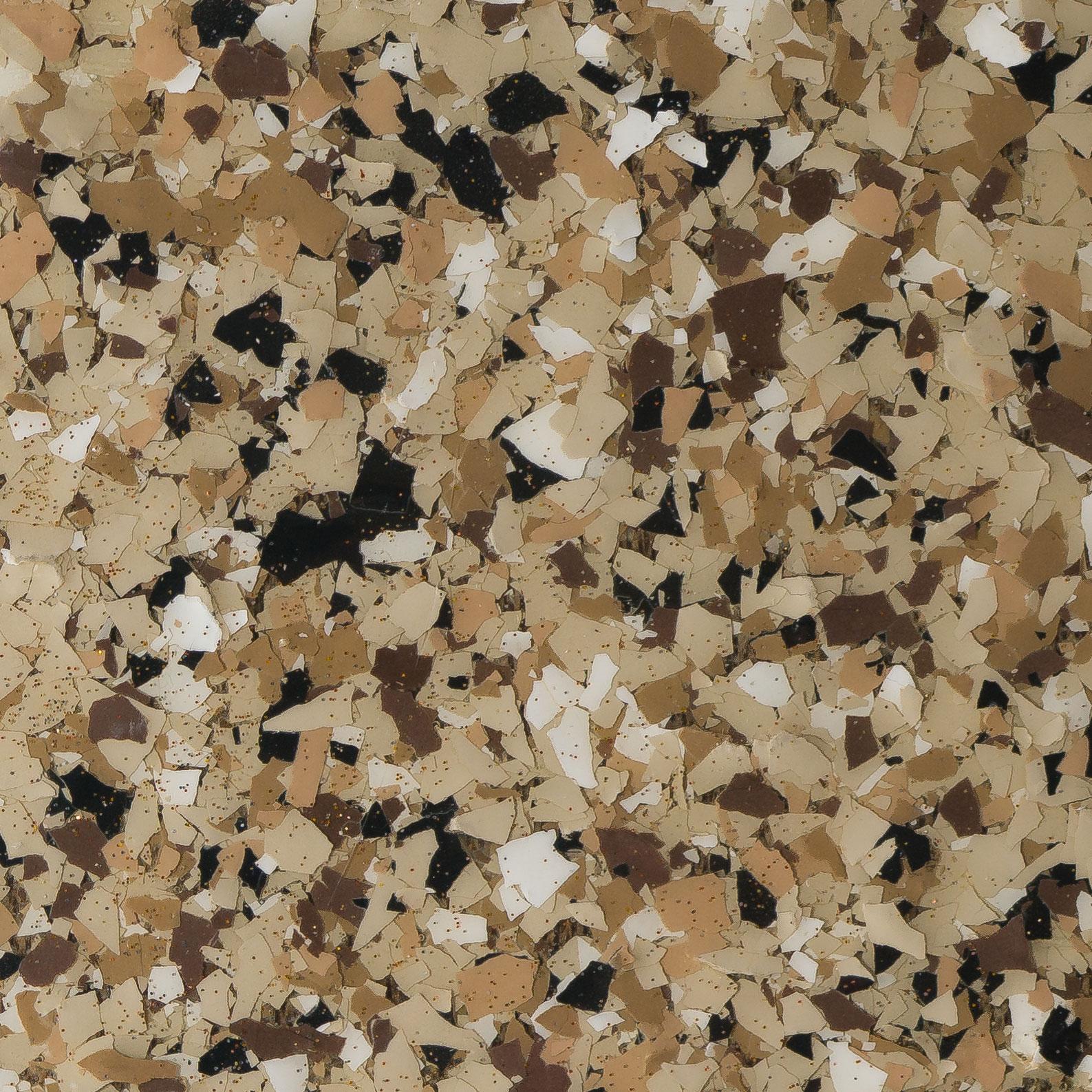 Garage Doctors Easy Clean Flooring in Florida platinum-granite-deep-brown-glitter