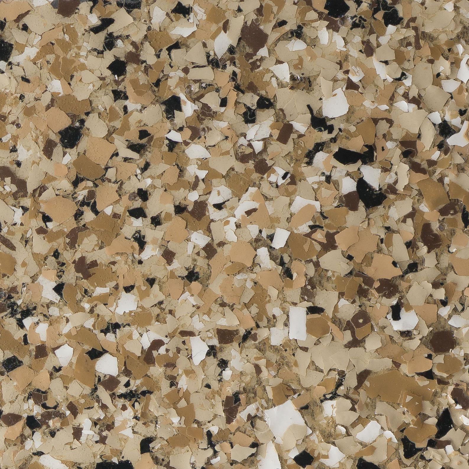 Garage Doctors Easy Clean Flooring in Florida platinum-granite-deep-brown