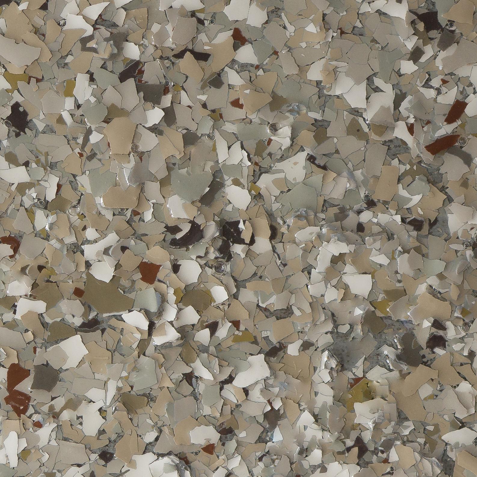 Garage Doctors Easy Clean Flooring in Florida platinum-granite-mars-gray